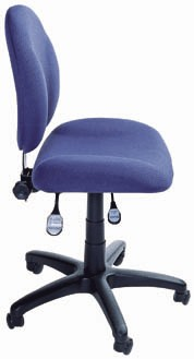 Ergonomic adjustable ESD chair