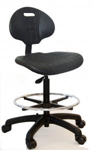 Pu urethane stool