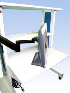 Computer-Atriculating-Swing-Arm