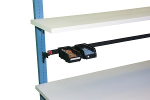 Single parts cup rail