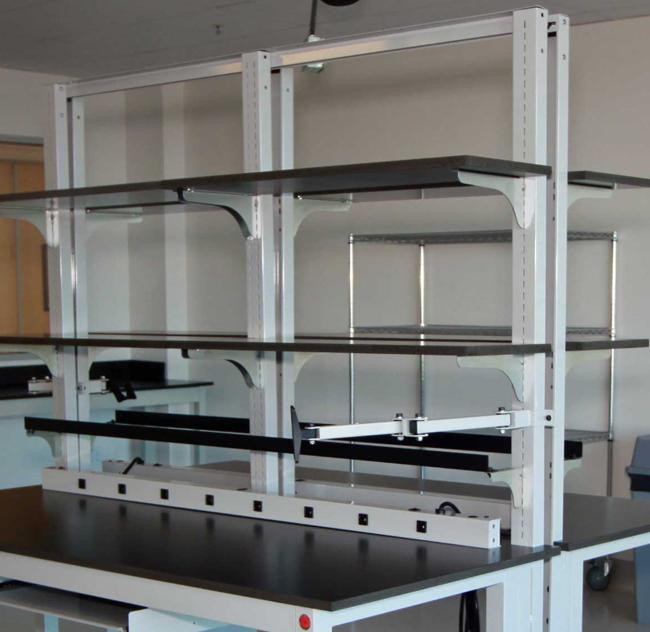 split shelf frame