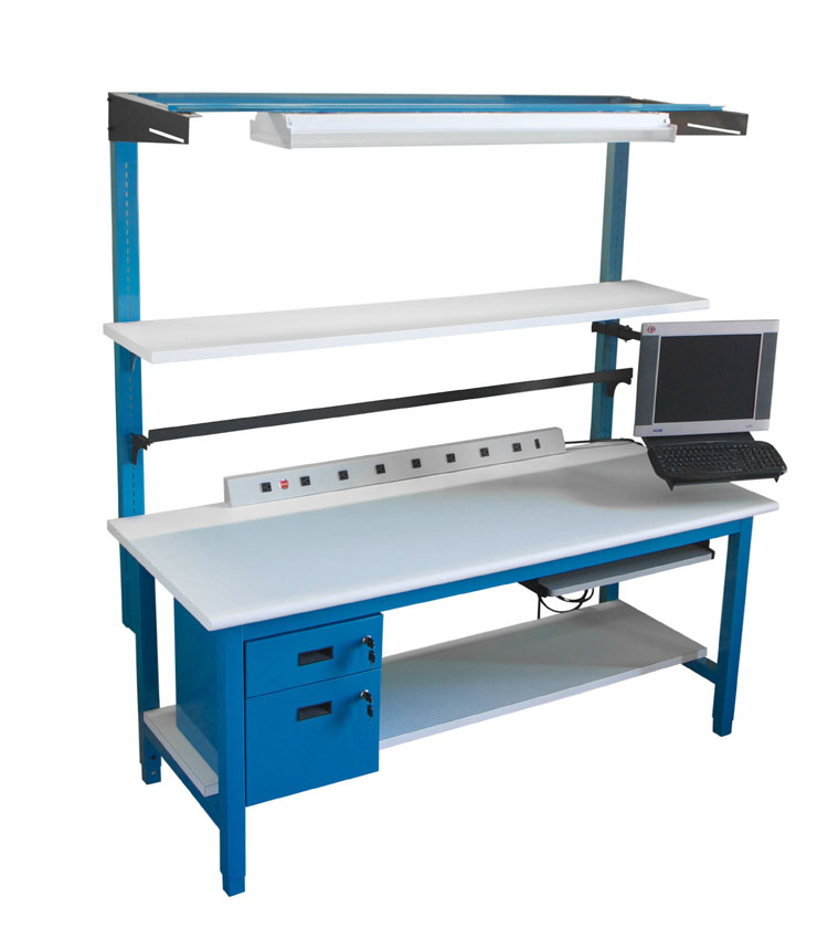 Production Assembly Bench Workstation