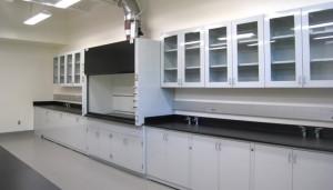 Lab wall cabinet