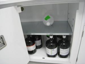 Corrosive cabinet