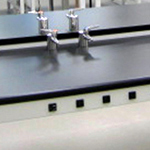 HPL laminate work surface