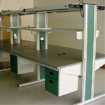 double sided workstations