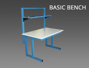 Cantilever-riser-bench