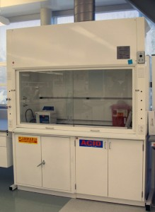 Fume hood enclosure