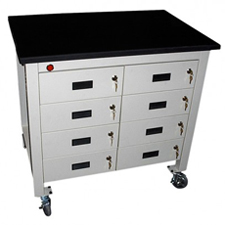Lab-Resin-Drawer-Cart