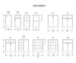 Laboratory cabinet menu