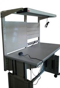 4 cylinder electric adjustable bench