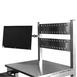 multi bin rail panel