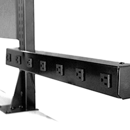 upright mounted electrical channel